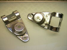 HEADLIGHT FARI Bracket Holder Chrome XT 500 FANALI LAMPADE SUPPORTO CROMO
