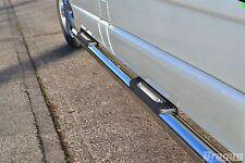 Para adaptarse a 02 - 14 Opel Opel Vivaro LWB barras laterales de acero inoxidable + almohadillas de paso