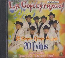 LA CONCENTRACION 20 EXITOS  CD NUEVO