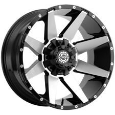 4 Scorpion Sc 31 20x9 6x1356x55 12mm Blackmachined Wheels Rims 20 Inch Fits More Than One Vehicle