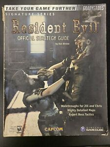 Resident Evil Signature Series Official Brady Game Guide Gamecube No Poster