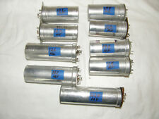 Eight, 8 Twist Lock Fp type Electrolytic Capacitors 125uF 450V Sprague, Mallory