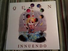 1991 Queen Innuendo Album Flat Double Sided Promo Display Poster