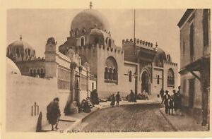 """""""Vintage photo postcard from collection"""" Alger"""