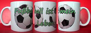 Kaffeetasse für den Fußball Fan mit Namen