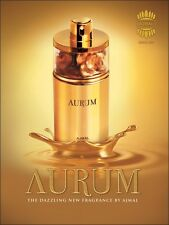 Aurum by Ajmal Famous Eau De Parfum with Summer Flowers and Fruity Blend 75ml