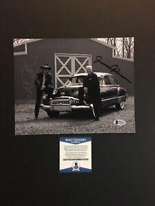 Richard Petty Junior Johnson autographed signed 8x10 photo Beckett BAS COA RARE