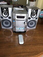 Sony CMT-HPX9 Mini Hi-Fi Component System, AM/FM, 5 disc CD, Tape