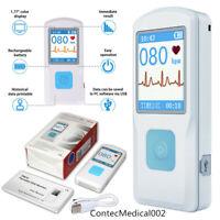 Tragbare tragbare ECG / EKG-Recorder-Herzmonitor-Maschine Bluetooths PM10