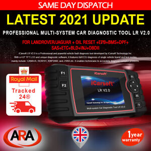 iCarsoft LR V2.0 For LANDROVER, RANGE ROVER, JAGUAR OBD2 Diagnostic Tool Scanner