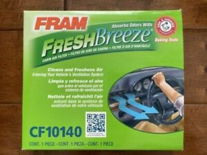 FRAM CF10140 Fresh Breeze Cabin Air Filter for Nissan & Infiniti Vehicles