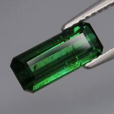 1.62Ct.Ravishing Color Natural Green Tourmaline Mozambique Perfect Shape