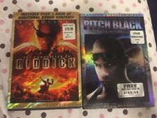 Pitch Black Chronicles Of Riddick Dvd Lot Vin Diesel Director's Cut