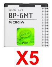 LOT OF 3 OEM NOKIA BP-6MT BATTERIES for NOKIA 6350 6750 E51 N81 N82
