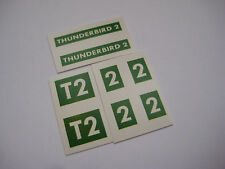 Dinky 101 -  Thunderbird 2 - Water Slides - B2G1F