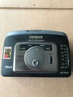 Aiwa HS-TA463W Portable Cassette Tape Player/AM-FM Radio Not working For Parts