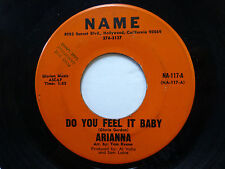 ARIANNA 45 Wake Up In The Morning / Do You Feel It Baby NAME female pop  Jr579