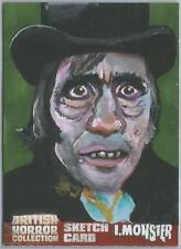 British Horror Collection Sketch Card created by Jason Brower [ 3 ]