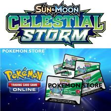 100 Celestial Storm Codes Pokemon TCG Online Booster sent INGAME / EMAILED FAST!