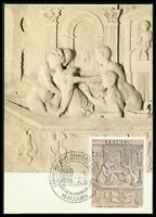 FRANCE MK 1979 RELIEF CHATEAU ECOUEN ART KUNST MAXIMUMKARTE MAXIMUM CARD MC bk18