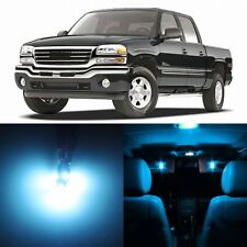 16 x ICE BLUE Interior LED Lights Package For 1999 - 2006 GMC Sierra +TOOL