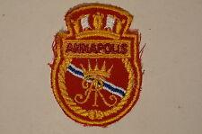 Canadian Navy RCN HMCS Destroyer Escort Annapolis Crest Patch 1
