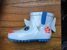 Kids Jump a Roos shark rain boots- size 8