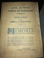 PORT DE BARCELONE OCTOBRE 1947