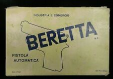 Beretta 950.25 Jetfire Factory 1-Piece Cardboard Pistol Box + Manual