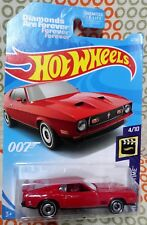 1/64 Hot wheels 007 Diamonds Are Forever 1971 Ford Mustang Mach 1