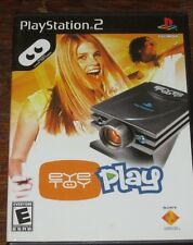 EyeToy: Play - PS2 - complete  *Black Label* NO digital camera