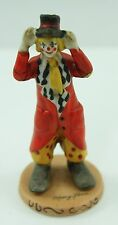 Willitt's Design Clown With Red Coat 5850 Circus Mary Keen 1986 Figurine