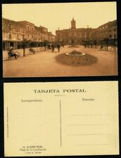 Tarjeta Postal Ciudad Real. Plaza de la Constitución. Nº 10 FOTO ROISIN.