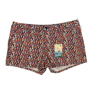 BeBop Womens Shorts Flat Front Stretch Chinos Casual Bottoms Juniors Size 13