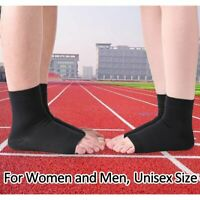 Elastic Ankle Foot Support Brace Compression Wrap Sleeve Sock Sports Pain Relief