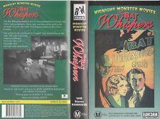 THE BAT WHISPERS CHESTER MORRIS UNA MERKEL RICHARD TUCKER  RARE PAL VHS VIDEO