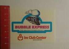 Aufkleber/Sticker: Bubble Express im Club Center Buch & Musik (090916154)