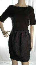 COAST black short sleeve dress size 12 UK 40 Eur