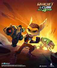 Ratchet and Clank Game Wall Scroll Poster Licensed CWS Media Group 23184  New