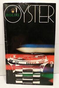 Vintage - 1978 - Rolex Oyster - Booklet - Catalog