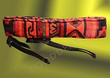 DSLR SLR Camera Neck Shoulder Strap Belt Vintage for Canon Nikon Pentax Sony red