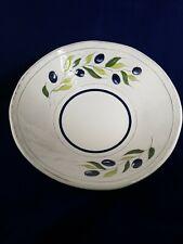 "Olive Leaf Signature Housewares Serving Large Pasta Bowl Dinner ware Table 12"""
