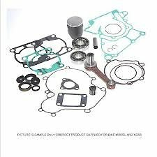 RM125 ENGINE REBUILD KIT 2000. PISTON KIT CONROD KIT GASKETS SEALS MAINS SUZUKI