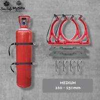 Gas Bottle Holder Medium BOTTLECHOCK Bottle Chock Restraint System E E2 D D2