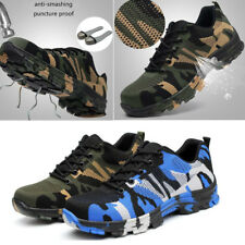 Men Protection Indestructible BulletProof Ultra X Shoes Steel Toe Safety Boots Y