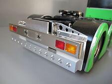 Custom Aluminum Rear T-bar Bumper Guard w/ LED Hole Tamiya R/C 1/14 King Hauler