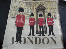 London Solider Theme Cotton linen Cushion Cover Fabric DIY Each piece 48.5x50cm