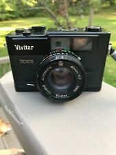 Vivitar 35ES Vintage 35mm Film Camera with Case with f/1.7 lens