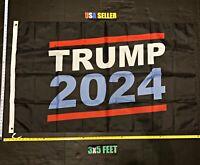 Donald Trump 2020 Flag FREE FIRST CLASS SHIP Trump America Bandana USA ONE SIDED