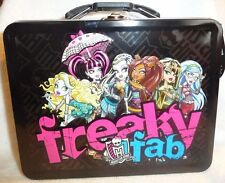 Monster High Tin Lunch Box for school supplies